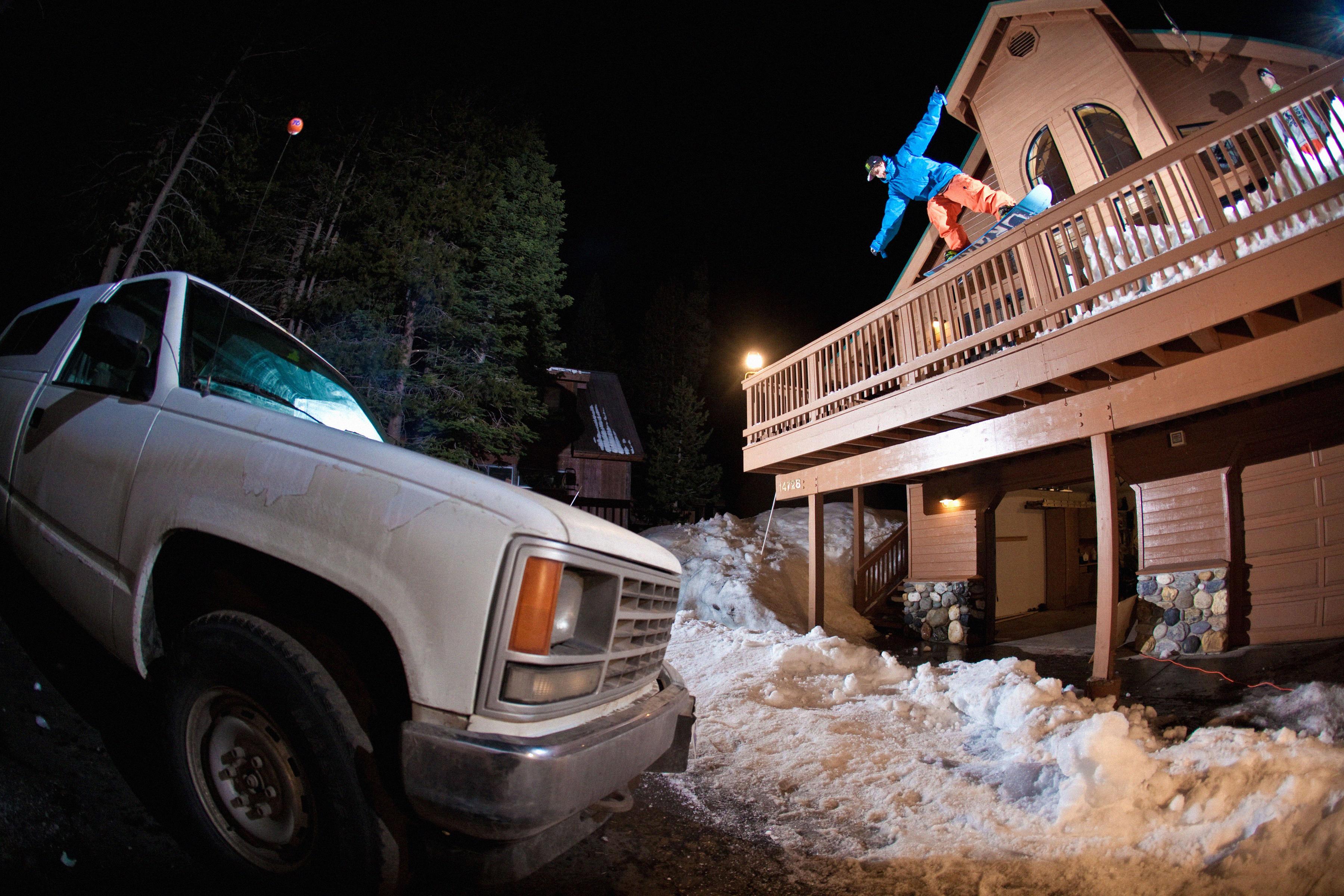 Action - Snowboarding, Lake Tahoe