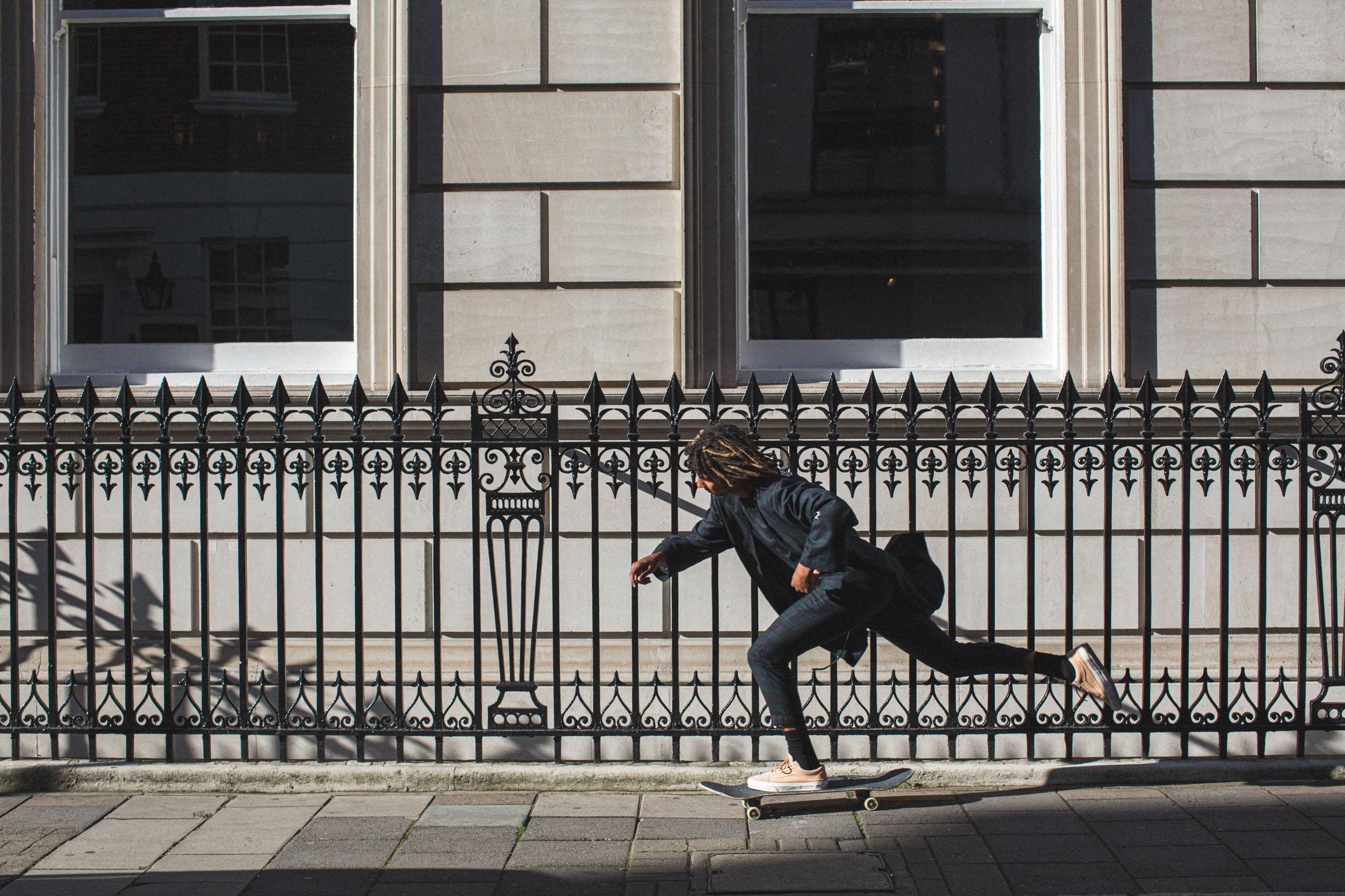 Action - Skateboarding, London