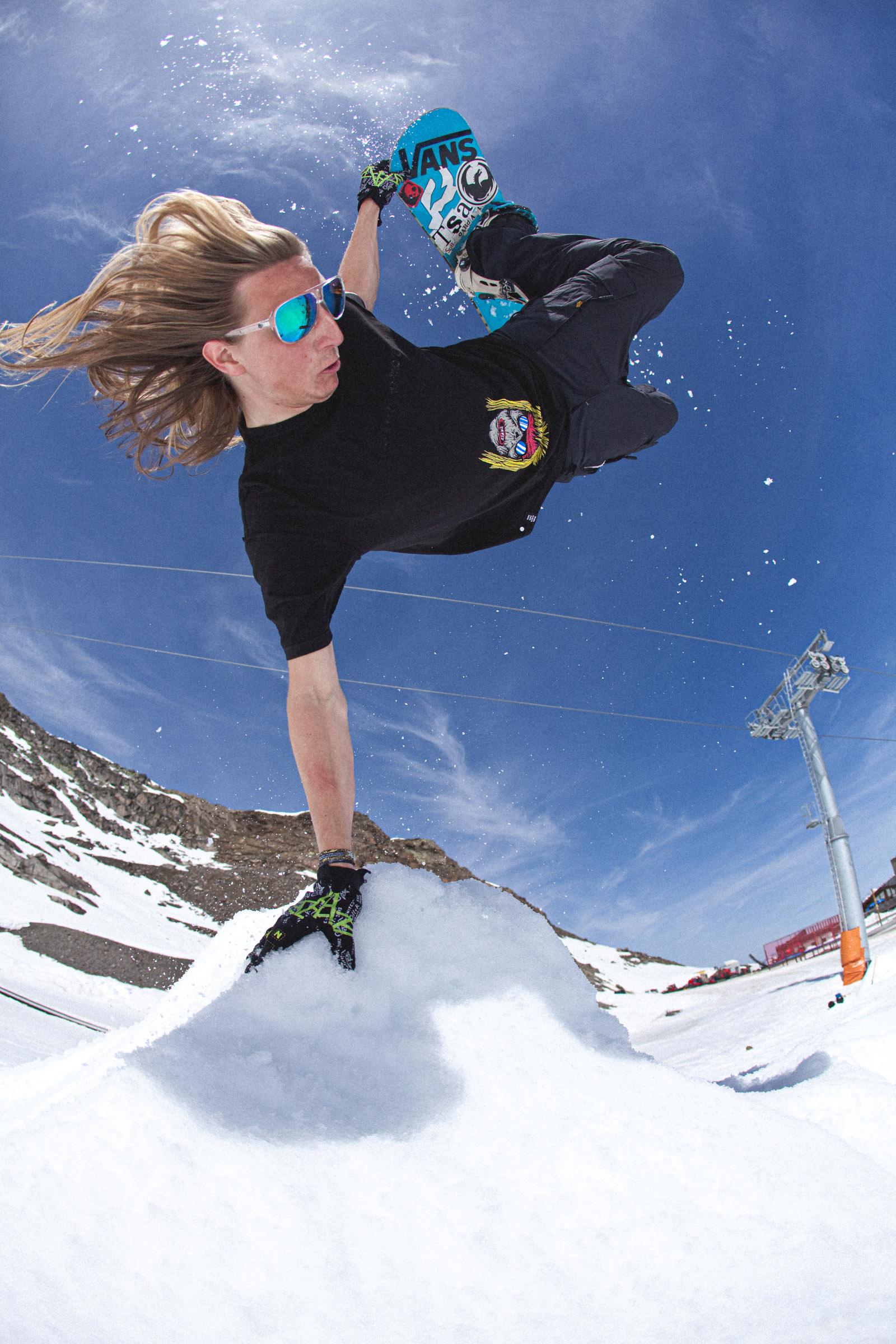 Action - Snowboarding, Austria
