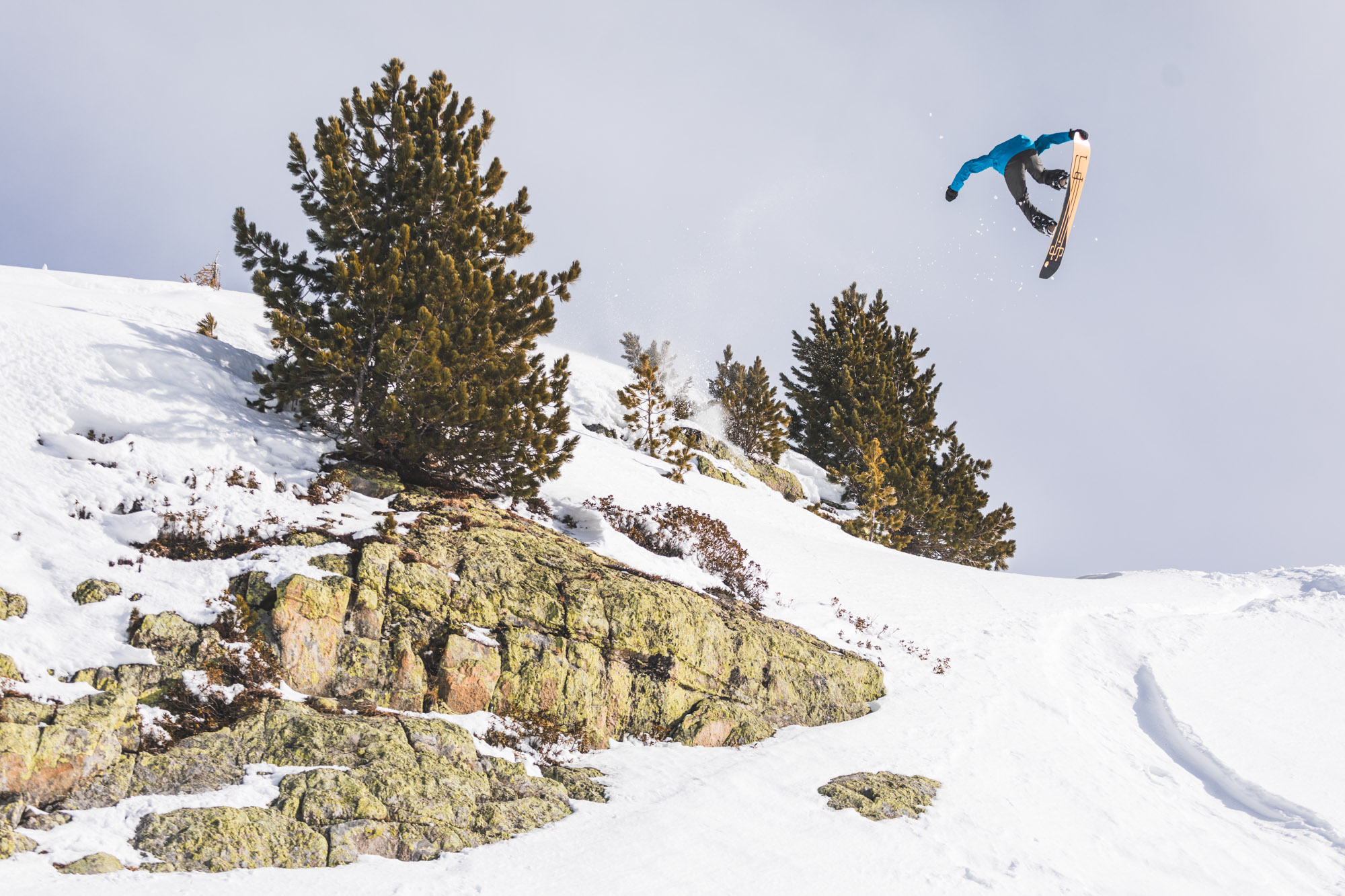 Action - Snowboarding, France